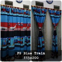 korden homemade karakter anak / horden homemade motif Blue Train