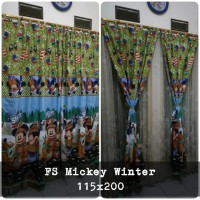 korden homemade karakter anak / horden homemade motif Mickey Winter