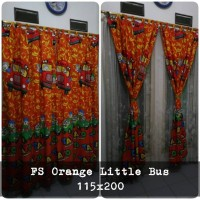 korden homemade karakter anak / horden homemade motif Orange Little Bu