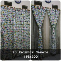 korden homemade karakter anak / horden homemade motif Rainbow Camera