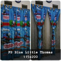 korden homemade karakter anak / horden homemade motif Blue Little Thom