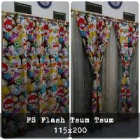 horden homemade karakter anak/korden termurah motif Flash Tsum Tsum