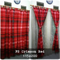 korden homemade karakter anak / horden homemade motif Crimson Red