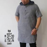 Harga baju muslim casual pria kurta pakistan model hoodie baru   Pembandingharga.com