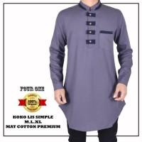 Harga baju muslim casual pria brand four one model baru kurta   Pembandingharga.com