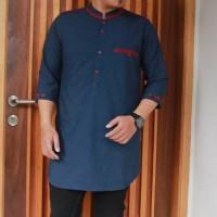 Harga baju muslim casual pria kurta pakistan promo model baru   Pembandingharga.com