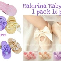 Carterlove Balerina babysock kaoskaki bayi 1 pasang