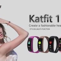 Smartband Createkat Katfit 1 Gelang Pintar pelacak kebugaran