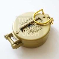 TLP Papillon Kompas Kuningan Brass Lensatic Outdoor Sport Army Compass