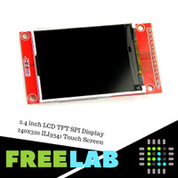 2.4 inch LCD TFT SPI Display 240x320 ILI9341 Touch Screen