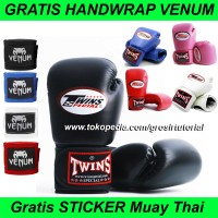 Promo Sarung Tinju Boxing, Glove TInju, Sarung Tangan Muay Thai Twins