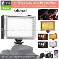 ULANZI 96 LED Video Light 96LED Lampu Studio Foto DSLR Smartphone HP