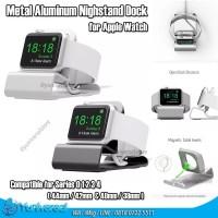 Apple Watch Dock Nightstand Metal Aluminum 42mm 38mm 40mm 44mm Series