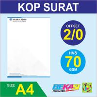 Cetak Kop Surat 2 Warna - HVS 70 gram