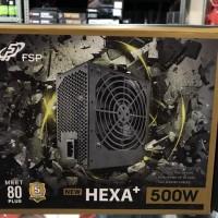 Power Supply FSP HEXA Plus II New 500 Watt 500W PSU