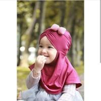 Jilbab Bayi Jilbab Anak Pita Sparkling Atau Kotak