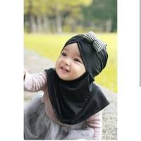 Jilbab Bayi Jilbab Anak Pita Sparkling/ Kotak