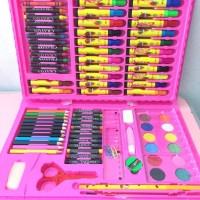 Colouring Set 86 pcs Pensil Warna Crayon set Stationary Kado anak