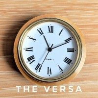 Mesin Jam (KECIL) untuk Plakat/Souvenir Warna Emas