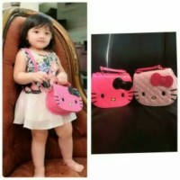 tas selempang hello kitty anak import