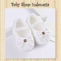 Sepatu Bayi Perempuan Putih Prewalker Import Murah Sepatu Bayi Putih B
