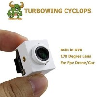 Turbowing Cyclops 3 V3 720P 170 ° Wide Angle Micro DVR - Murah