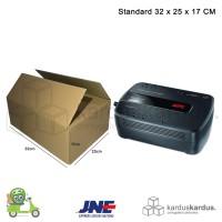 KARDUS | BOX | KARTON PACKING ( 32 x 25 x 17 ) POLOS BARU