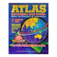 Atlas Indonesia dan Dunia edisi Terbaru untuk SD, SMP, SMA, dan Umum