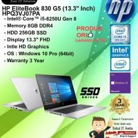 HP EliteBooK 830 G5 - HPQ3VJ07PA Intel Core i5-8250U/8GB/256GB SSD/3YR
