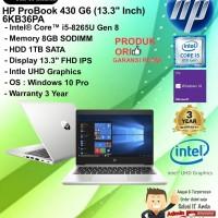 HP Probook 430 G6 - 6KB36PA Intel Core i5-8265U/8GB/1TB/WIN10PRO/3YR