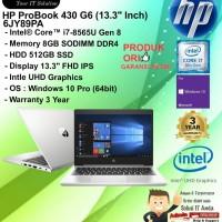 HP Probook 430 G6 - 6JY89PA Intel Core i7 8565U/8GB/512GB/WIN10PRO/3YR