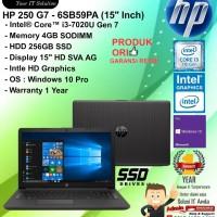"HP 250 G7 - 6SB59PA (15""Inch) Intel Core i3-7020U/4GB/256GB/W10PRO/1YR"