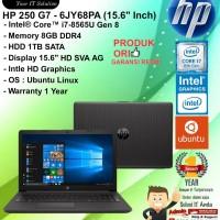 "HP 250 G7 - 6JY68PA (15.6"" Inch) Intel Core i7-8565U/8GB/1TB/DOS/1YR"