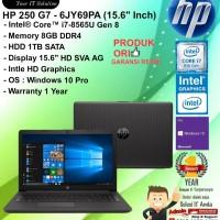 "HP 250 G7 - 6JY69PA (15.6""Inch) Intel Core i7-8565U/8GB/1TB/W10PRO/1YR"