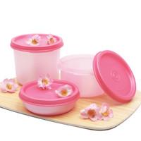 Wadah Bulat Serbaguna / Wadah Snack Anak / Numero Blossom Tulipware