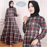 Gamis Maxi Emma (118) Baju Muslim Wanita Gamis Model Kekinian Terbaru