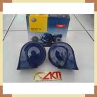 Klakson Keong Mobil Motor Biru Horn Blue Twin Tone Merek Hella