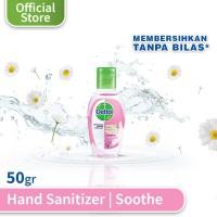 Dettol Hand Sanitizer Soothe - Botol 50 ml - Dettol Antiseptik