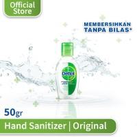 Dettol Hand Sanitizer Original - Botol 50 ml - Dettol Antiseptik