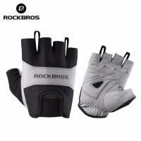 Sarung Tangan Rockbros S108 Anti-Skid Sepeda Fitness Half Finger