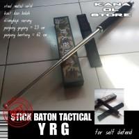 EAGLE BATON STICK TACTICAL PENTUNGAN STIK BESI PEMUKUL