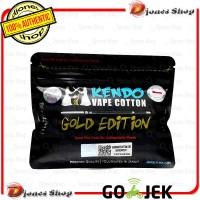 Authentic KENDO COTTON GOLD EDITION - Kapas Vape Premium Original