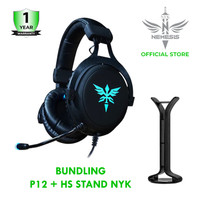NYK Headset Gaming Guardian P12 Bundling HS Stand NYK