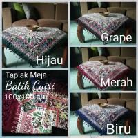 Taplak Meja Tamu Taplak Meja Guru Batik Cuiri 1x1 m