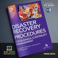 TEMPLATE SOP Disaster Recovery Planning Manual | BizManualz