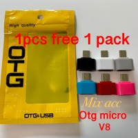 OTG Micro usb non kabel v8 otg micro connector FREE PACKING
