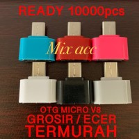 OTG Micro usb NON KABEL V8 OTG MICRO CONNCECTOR GROSIR TERMURAH