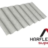 GENTENG/ATAP GELOMBANG BESAR ASBES HARFLEX SUPER 108, 60 CM