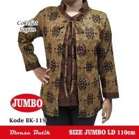 Blouse Batik Wanita Jumbo/ Atasan Batik Wanita Jumbo/ Blouse Jumbo BP1