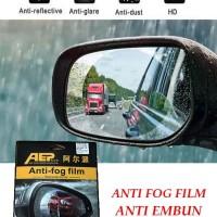 Anti Fog Anti Embun Kaca Spion Samping Mobil Double Side Car Kanan Kir